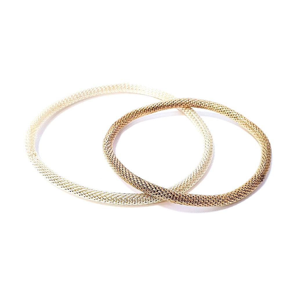 Bracelet doré extensible